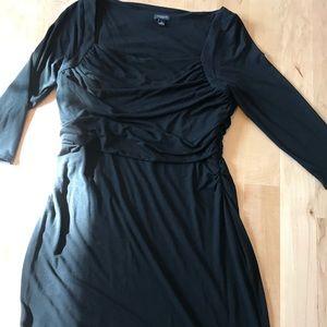 Ann Taylor Black Knit Dress